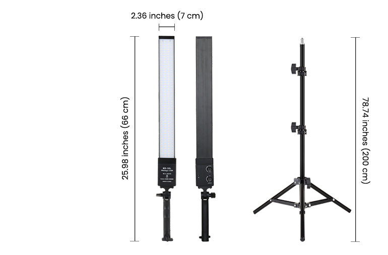 Ringlightus led light panels with stands 11