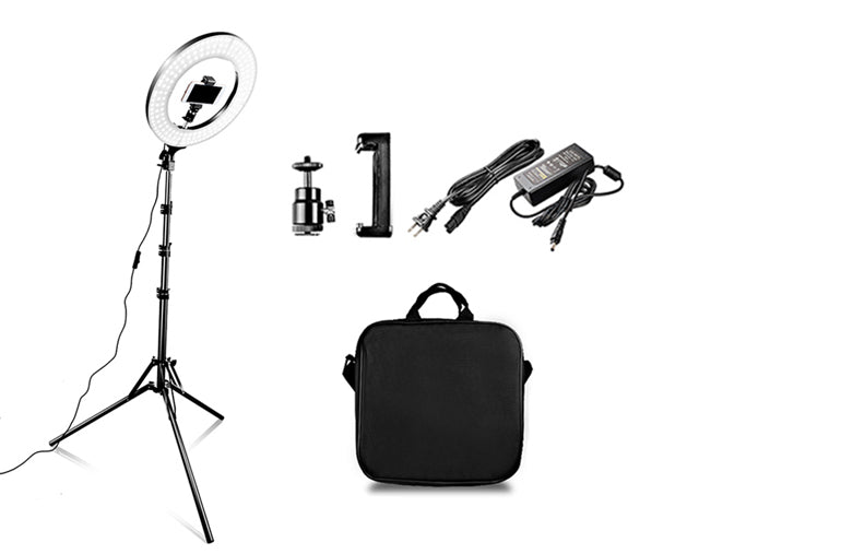 ringlightus 18 inch ring light package included