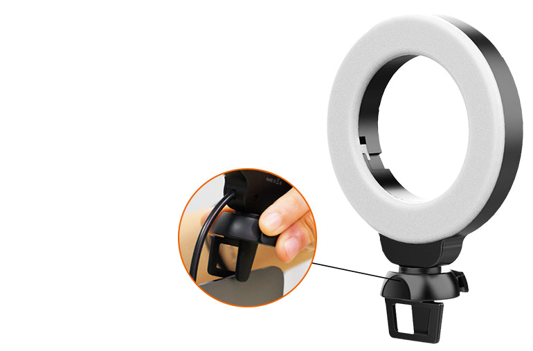 Ringlightus 4-inch Ring Light for Laptop and Webcam 09