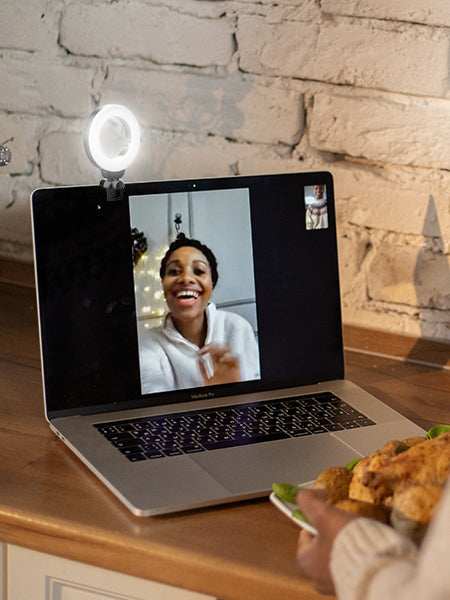 Ringlightus 4-inch Ring Light for Laptop and Webcam 13