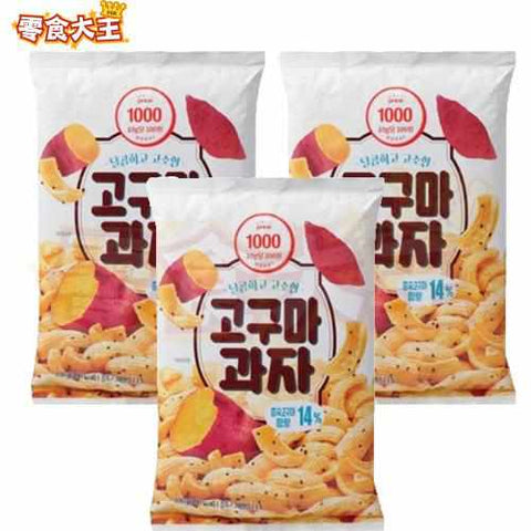 Only Price Sweet Potato Snack 紫薯脆片 100g x 3包 (8804874549274_3)