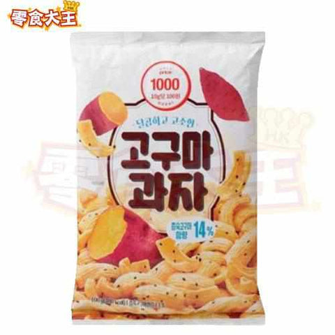 Only Price Sweet Potato Snack 紫薯脆片 100g  (8804874549274)
