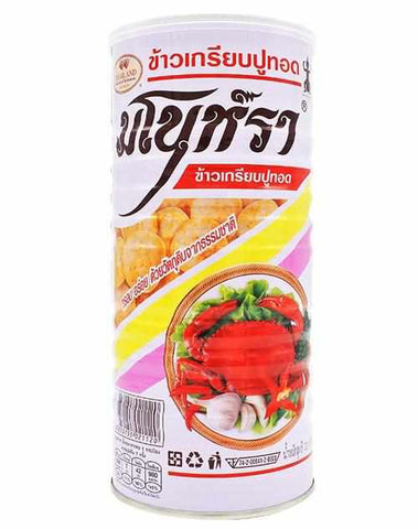 [泰國直送]Manora Fried Crab Chips 蟹片 90g  [蟹味控] (8850155021120)
