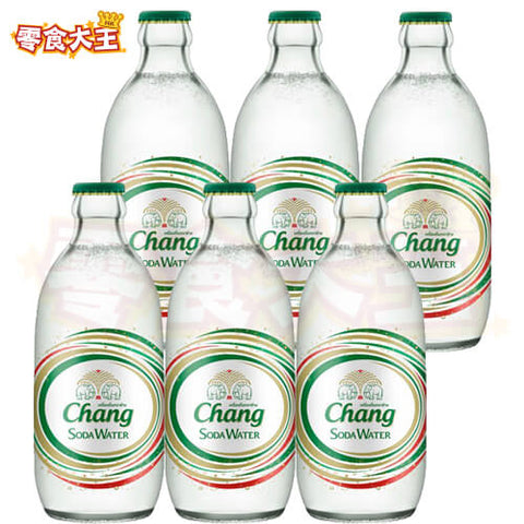 泰國 Chang 象牌梳打水 soda water 325ml x 6  (8851994612012_6)[泰國直送]