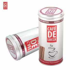 Cafe De Lucca Brand Chocolate Flavoureed Crem Wafers 400g 朱古力卷心酥 (可供甜品用)