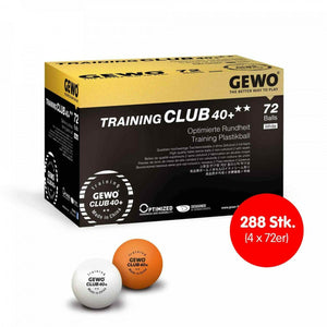 GEWO Ball Training Club 40+** 4x 72er Karton zum SONDERPREIS