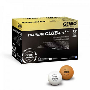 GEWO Tischtennis Ball Training Club 40+** 72er