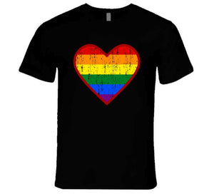 Pride.heart Ladies T Shirt