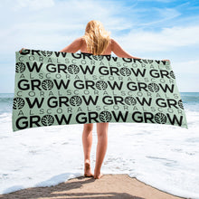 Load image into Gallery viewer, Grow Corals Beach Towel