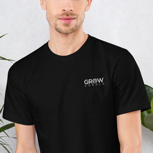 Grow Corals Embroidered Logo T-Shirt