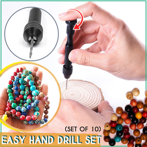 Easy DIY Hand Drill Set (Set of 10)