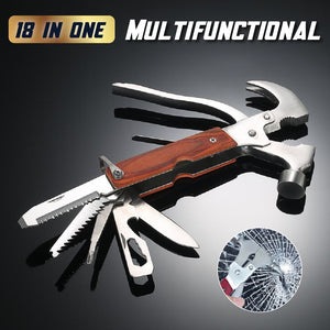 18 in 1 Multifunctional Hammer