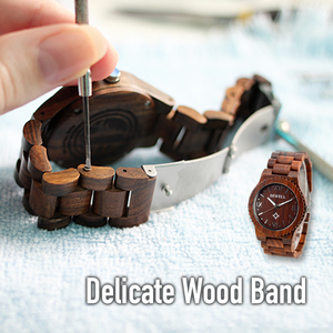 Wooden Strap Quartz Men's Watch
