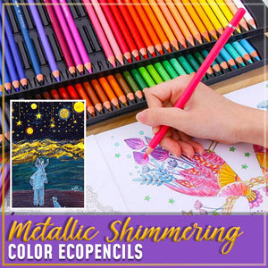 Metallic Shimmering Colored EcoPencils - Durian Plaza