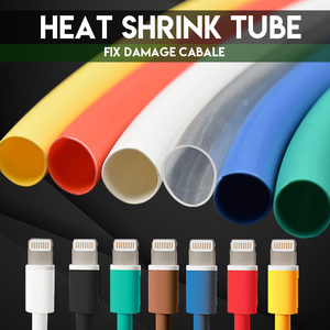 Heat Shrink Cable Tube Protector (140pcs)