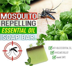 Bug Repelling Essential Oil Soap Bar