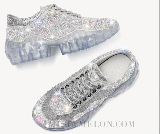 Crystal Sparkle Sneakers
