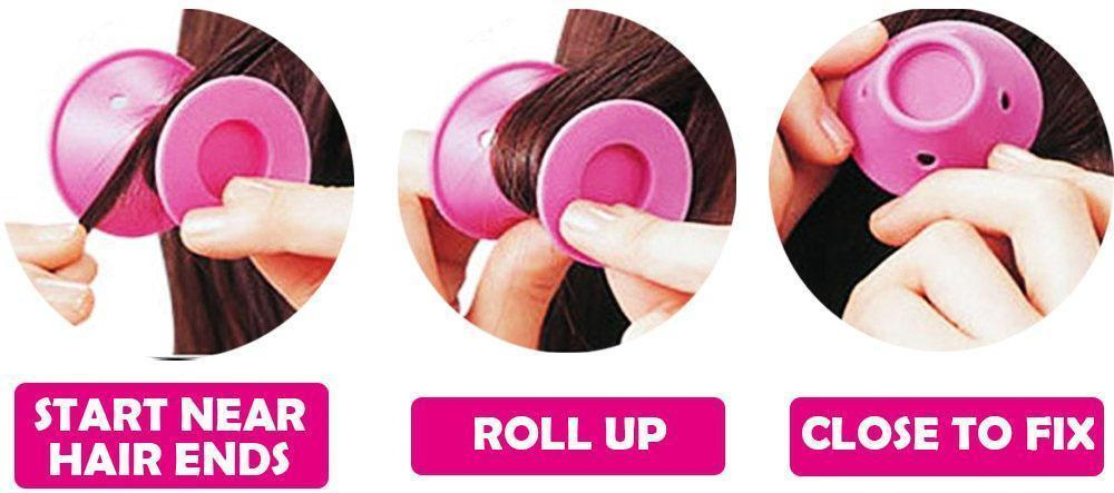 Heat-free Clipless Tight Curlers