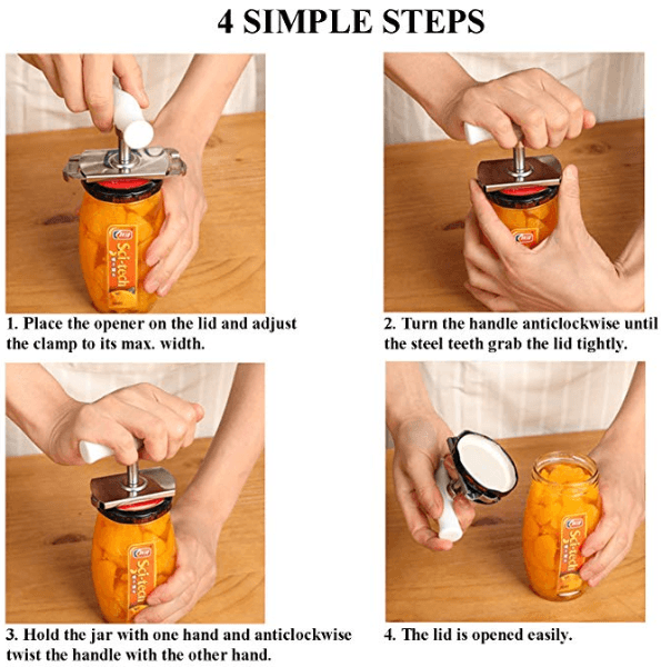 Easy-1-Twist Jar Opener