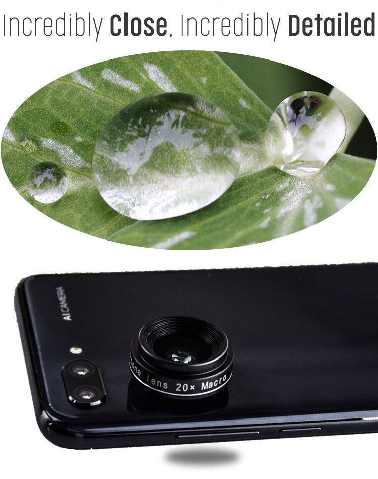 20x Macro HD Precision Phone Lens