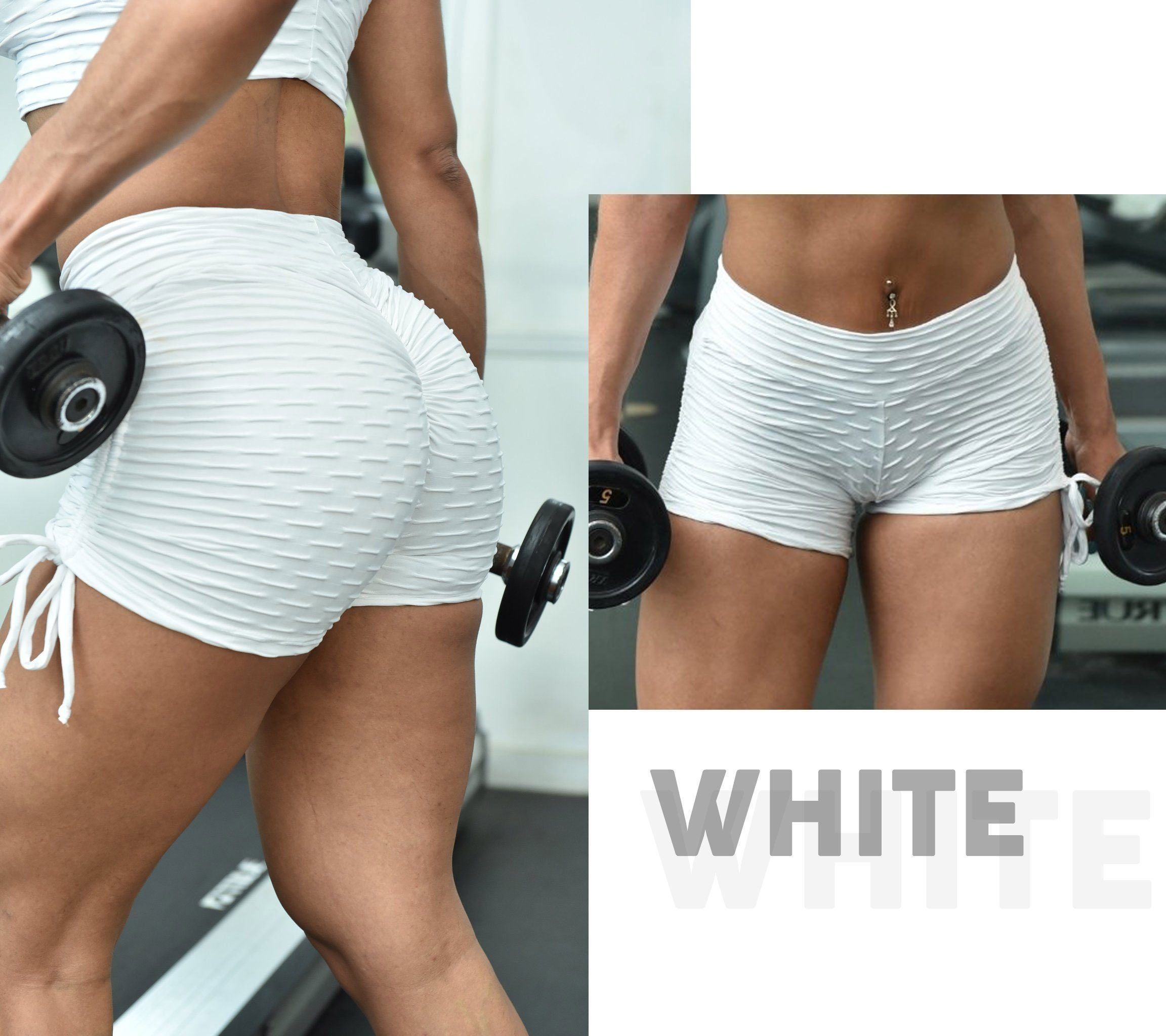 Anti-cellulite Textured Push Up Shorts