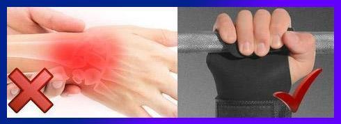 Power Lift Wrist Protection Grip Supporter
