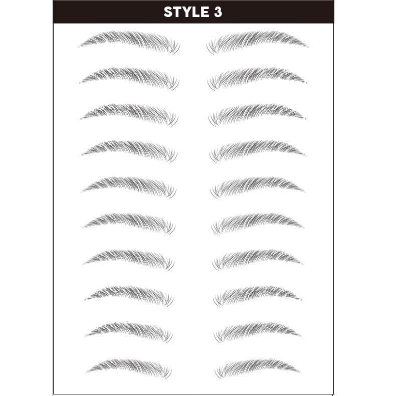 4D Hair-like Eyebrows Temporary Tattoo