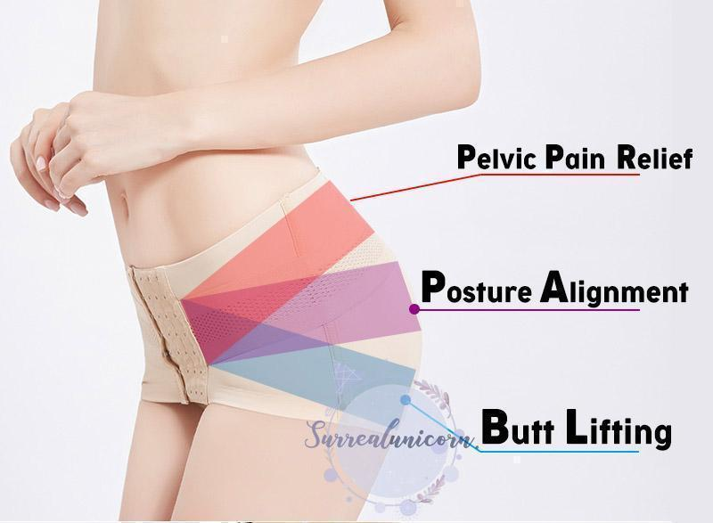 Hip-Up Pelvic Posture Correcting Belt