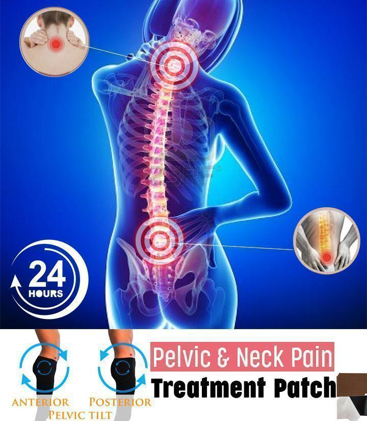Pelvic & Neck Pain Treatment Patch