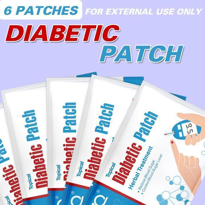 Anti-Diabetic Patch (6 Patches)