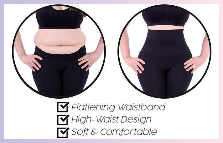 Butt & Tummy Shaping Leggings (Plus-size Available)