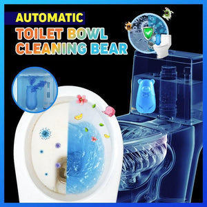 AUTO Toilet Bowl Cleaning Bear