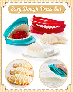 Easy Dough Press Set (3-pc Set)