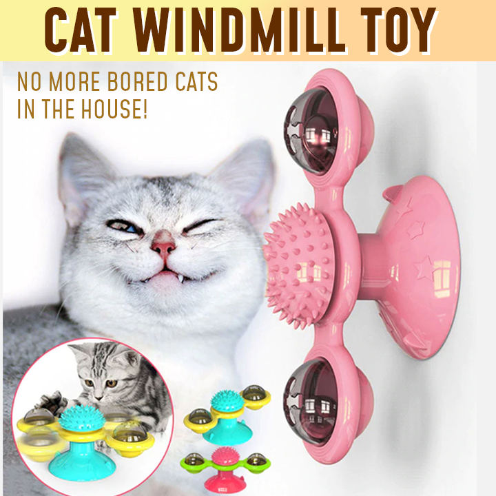 Cat Windmill Toy