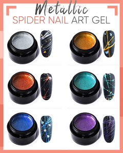 Metallic Spider Nail Art Gel