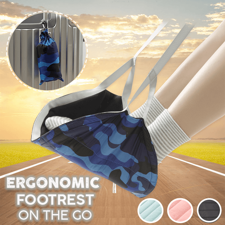 Ergonomic Footrest on the Go