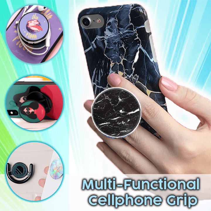Multi-Functional Airbag Cellphone Grip