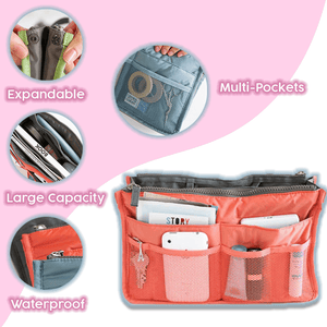 Expandable Bag in Bag Organizer