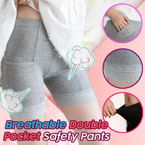 Breathable Double Pocket Safety Pants