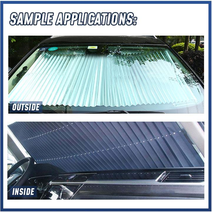 Car Retractable Windshield Cover - Durian Plaza