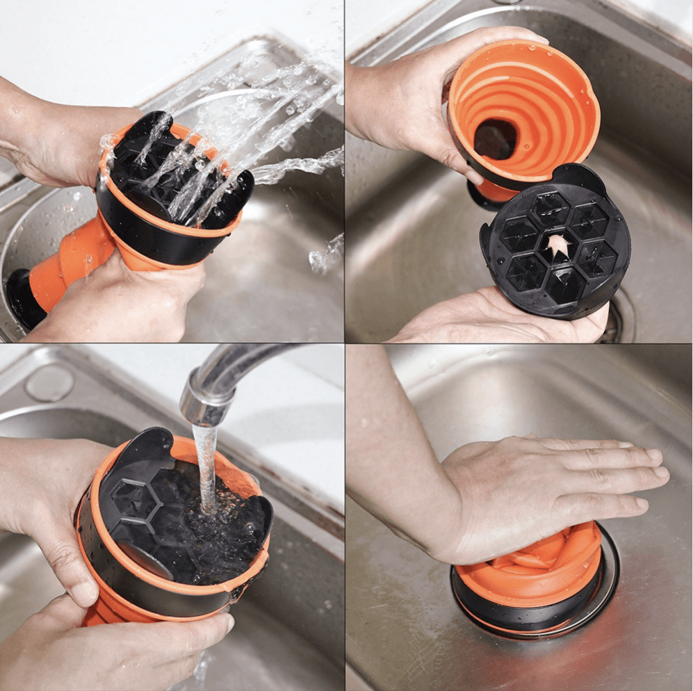 Super Sink Clogged Drain Plunger