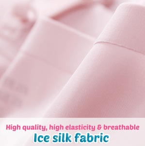 Breathable Wireless Ice Silk Cooling Bra