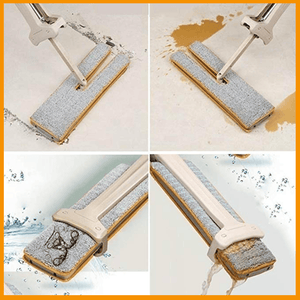 360 Degree Rotation Dual Sided Flat Mop