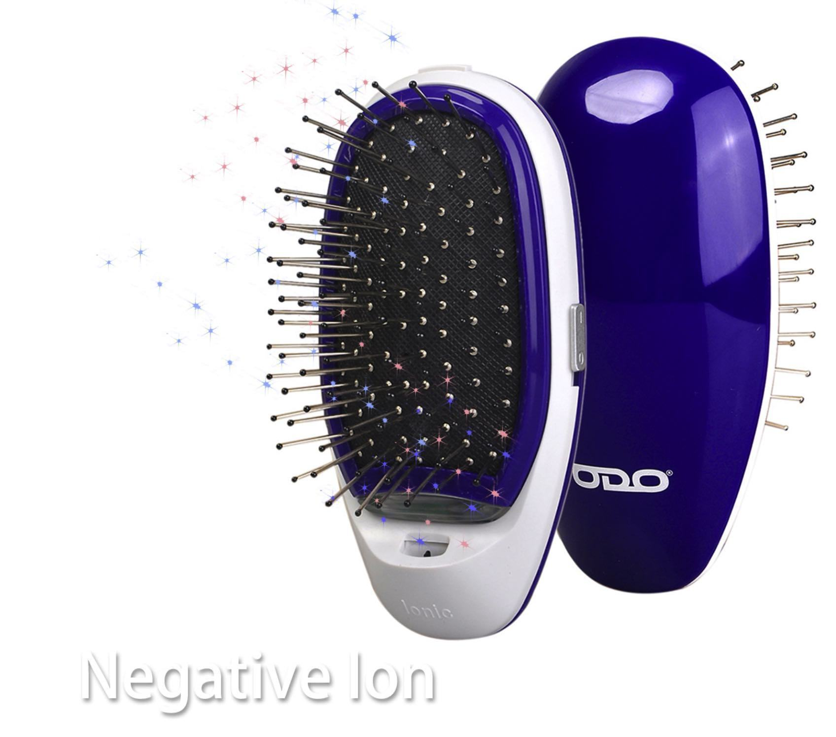 Portable Negative Ion Hair Brush