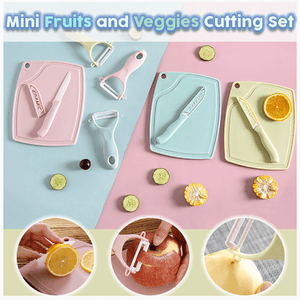Mini Fruits and Veggies Cutting Set (3pcs)