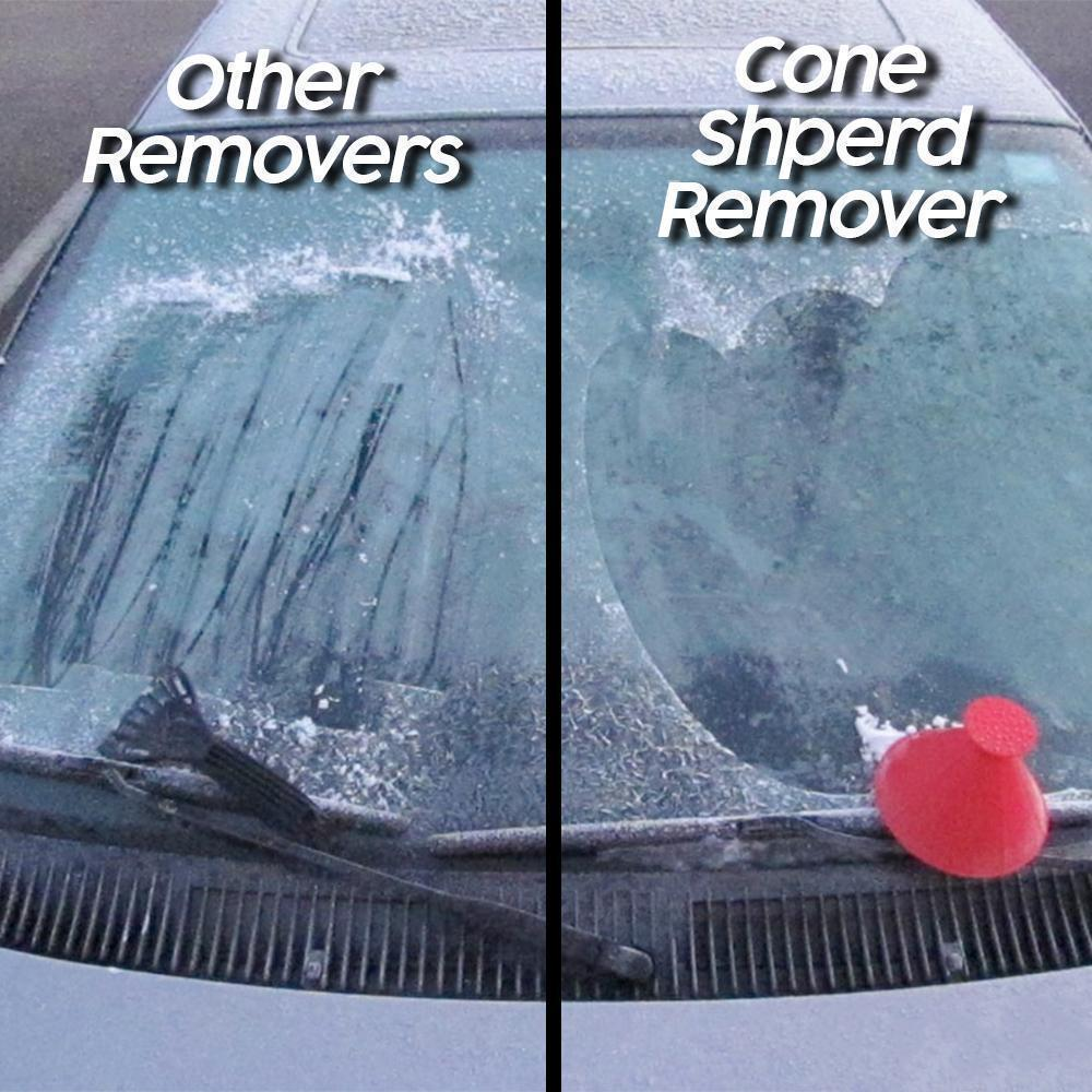 Cone Shaped Ice & Snow Remover