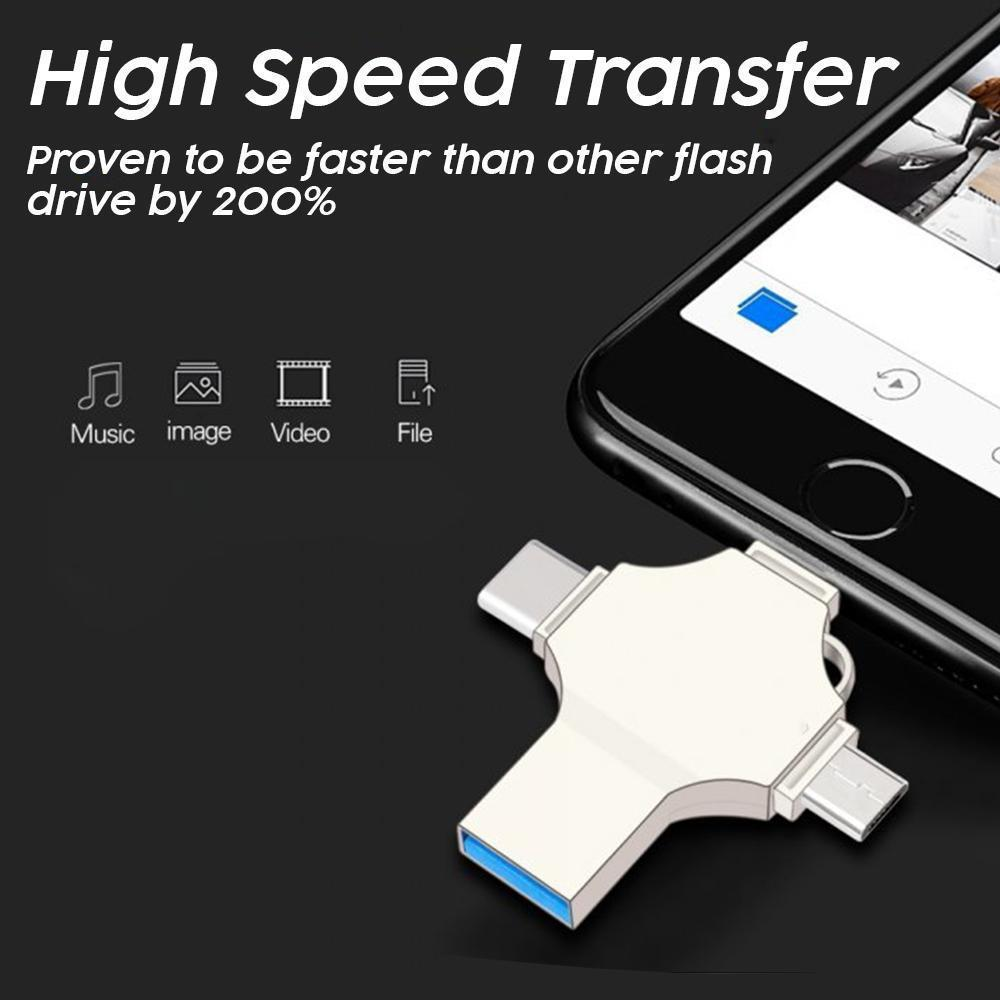 4 In 1 Universal Flash Drive