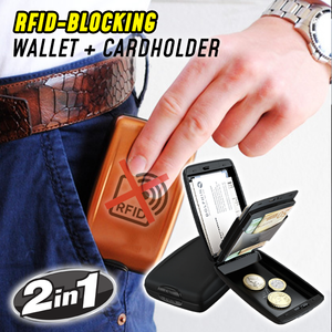 Anti-Theft Metal Wallet