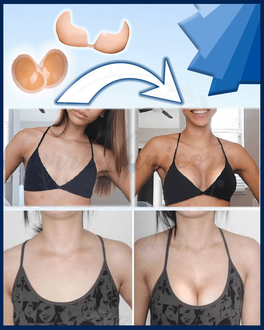 Stickable Waterproof Ultra Push Up Bra Pads