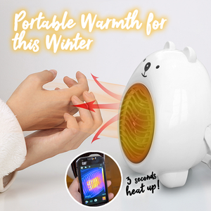 Portable Bear Fan Heater